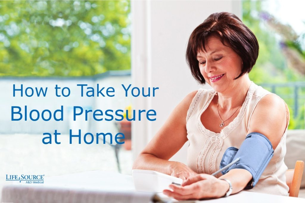 How to Take Your Blood Pressure at Home