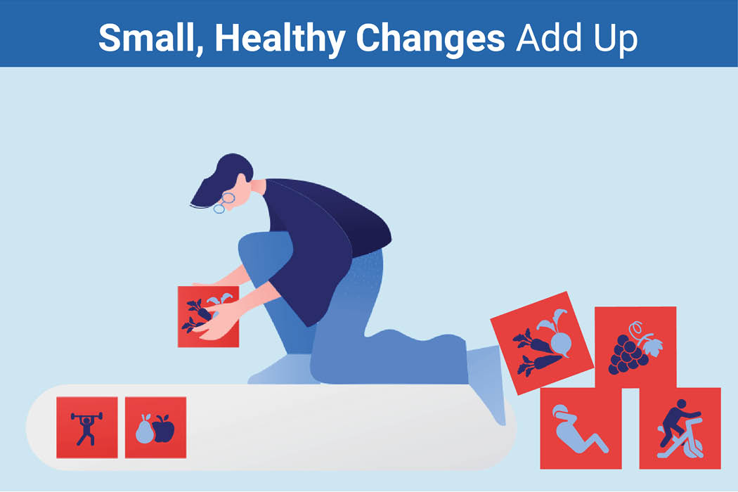 Small healthy changes add up