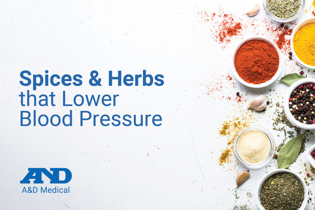 10 Spices and Herbs that Lower Blood Pressure
